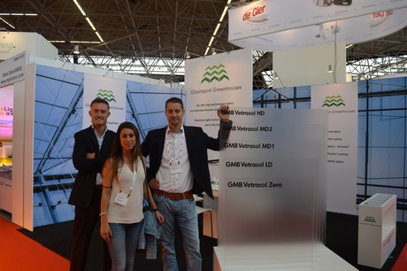 Greentech glasimport stand